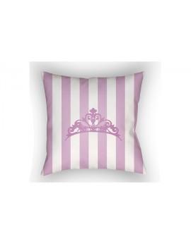 Pillow Purple/White