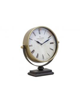Table Clock Metallic